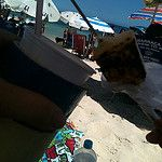 Cangas de Praia Andreza Katsani por Andreza Katsani Beach Quilt