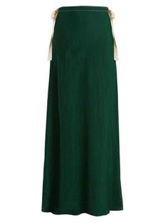 Nevis self-tie maxi-skirt   On the Island   MATCHESFASHION.COM UK
