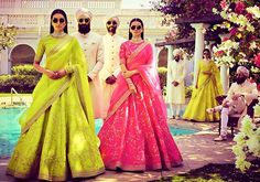 Sabyasachi Spring-Summer Collection 2018 featuring vibrant, fruity neon colours.