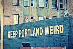 Portland Oregon Photo Keep Portland by ThePDXPhotographer on Etsy, $30.00