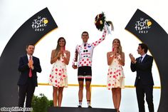 King of the Mountains winner Warren Barguil - TdF 2017