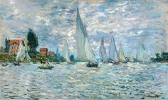 Monet Claude - The Boats, or Regatta at Argenteuil