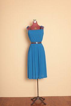 Vintage dress from the Disco Era...