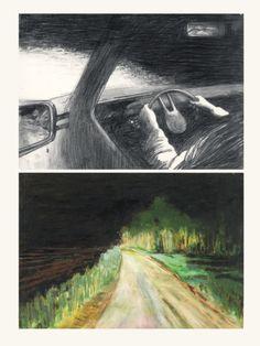 dominique goblet artist autobiography - self - authored sequential narrative