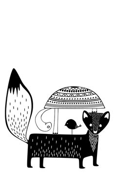 Cute black and white animals! Black and white illustration | scandinavian art | inspiration poster | kids room print | nursery wall art | FRIENDS illustration | black and white print | modern baby print | woodland art | kids poster | printable kids gift | Find more on etsy.com | This is a digital file, ready for instant download. You will receive a high resolution JPG files of the following sizes: 8x10 inches, 11x14 inches, A3