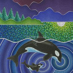 Orca Sonic Love by Elspeth Dobres