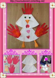Kindergarten, my first school: Easter grade . - Kindergarten, my first school: Easter part - Kids Crafts, Preschool Crafts, Easter Crafts, Easter Activities, Activities For Kids, Arts And Crafts Box, Little Red Hen, Origami Butterfly, Quilling Patterns