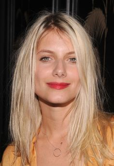 Mélanie Laurent Melanie Laurent, French Makeup, French Beauty, Blonde Tips, Blonde Hair, Vanity Fair, Tennis Players Female, Celebrity Portraits, French Girls