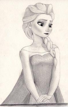Elsa from Disney's Frozen by julesrizz on deviantART