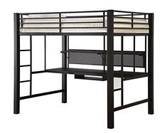 Shop a great selection of Avalon Full Workstation Loft Bed Black. Find new offer and Similar products for Avalon Full Workstation Loft Bed Black. Bunk Bed With Desk, Twin Bunk Beds, Kid Beds, Loft Beds, Loft Bed Desk, Coaster Furniture, Black Bedding, Dining Room Sets, Bed Sizes