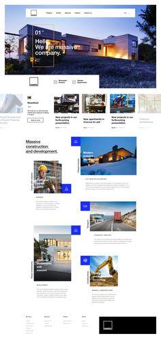 Massive Homepage Design