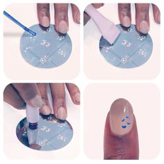 Stamper set- designed to help you achieve the perfect nail art on your own. #nails
