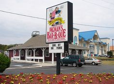 Pigman's Bar-B-Que - Kill Devil Hills, NC. Bringin' Saucy Back, Pigman's has mouthwatering BBQ (pork, beef, turkey or tuna), ribs, chicken, fried shrimp and country ham. They can even cater your own event.