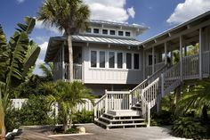 Cliff Scholz - tropical - exterior - tampa - Clifford M. Scholz Architects Inc.