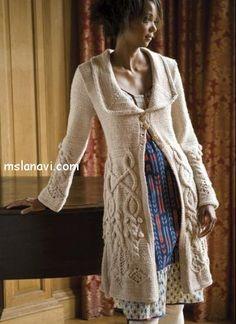 Красивое пальто от Michele Orne Neulontaprojektit 162ea53e4d