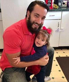 WWE Superstar Tony Nese getting a big hug from his adorable daughter Lucy May Wrestlemania 35, Star Wars, Wwe News, Big Hugs, Wwe Superstars, Father, Dads, Daughter, Husband