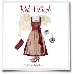 Dirndl-Style: Red Festival
