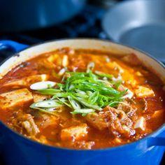 Kimchi Jigae, my favorite Korean comfort food.