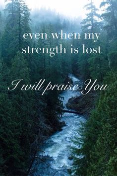 From my absolute favorite song by Hillsong United. Even when things are tough, I choose to give Him all the glory and forever praise His wonderful name.