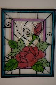 Glass Painting Designs and PatternsLast time, I was browsing the web and saw some beautiful glass painting designs. I never thought I'll be hooked in this stuff since I am not an artsy person. But upon browsing more, I saw even more patterns and Stained Glass Mosaic, Glass Painting Designs, Glass Painting, Stained Glass Rose, Paint Designs, Painting, Painting Patterns, Glass Art