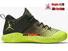 brand new 993fe febe5 Jordan Extra.Fly - Chaussures Basket Jordan Pas Cher Pour Homme Volt Noir  854551-700