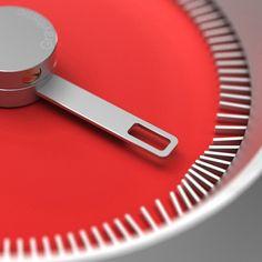 Details we like / Watch / Magnetic / Red / Metal / at IndustrialDesigners.co   Jaemin Jaeminlee - Gravitistic