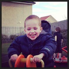 Lucas the smiler!! #giggles #love