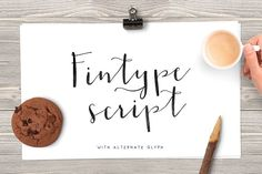 Fintype by vuuuds on @creativemarket