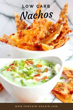 Quick and easy those homemade Keto or Low Carb and Gluten free Nachos filled with cheese and bacon are a prefect snack for any of your movie night or just friends gatherings. Gluten Free Nachos, Low Carb Nachos, Beef Recipes, Low Carb Recipes, Healthy Recipes, Easy Dinner Recipes, Appetizer Recipes, Appetizers, Party Recipes