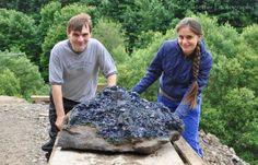 Jolyon & Katya Ralph - An exceptional fluorite specimen