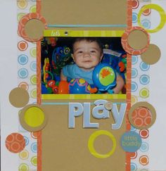 scrapbook-cute as for a pet layout