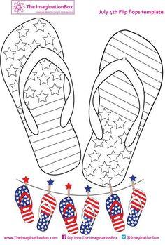 Téléchargez patriotique avec ce coloriage de quatrième de juillet ! 4849