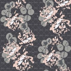 Abstract Florals @patternbank #textiledesign #textiles #womenswear #fashion #floral #florals #abstract #abstractfloral #abstractpattern #active #activewear #swimwear #patternbank www.patternbank.com/omlabel