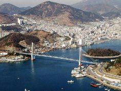 Dolsan Bridge, Yeosu.