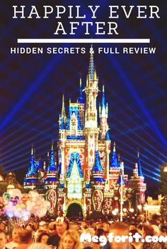 Happily Ever After at Walt Disney Worlds Magic Kingdom Disney World Rides, Disney World Food, Disney World Magic Kingdom, Disney World Florida, Disney World Parks, Disney World Planning, Walt Disney World Vacations, Disney Trips, Disney Travel