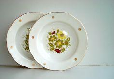 Vintage soviet union soup plate Deep pasta dish от DelicateRetro, $12.00
