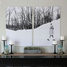 Turn Your Photos Into Wall Art — For Less Than $10!: House by Hoff blogger April Hoff shows us how to create beautiful, personal wall art via Hometalk.