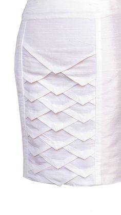 Super origami fashion fabric manipulation white dress ideas Source by claricebrito dresses ideas Fashion Sewing, Fashion Fabric, Diy Fashion, Dress Fashion, Fashion Ideas, Origami Fashion, Sewing Clothes, Diy Clothes, Mode Origami