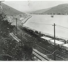 Rail trucks near Golant, delivering clay for loading at Fowey China Clay, Present Day, Cornwall, Great Places, Trains, British, Country, Rural Area, Country Music