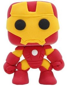 DIY Toddler Art Modeling Mini Clay - Iron Man: Amazon.co.uk: Toys & Games