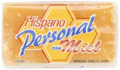 Hispano Personal Con Miel, Honey Soap, 4.4 oz. * Awesome product. Click the image : Skin care