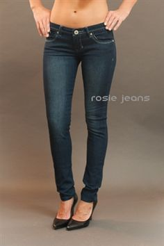 Ladies dark navy skinny jeans – Global fashion jeans collection