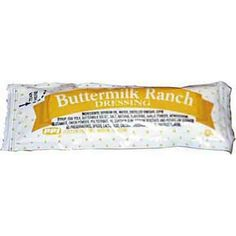 Portion Pack Buttermilk Ranch Dressing, 0.42-Ounce Single Serve Packages (Pack of 200) -- Tried it! Love it! Click the image. : Dinner Ingredients