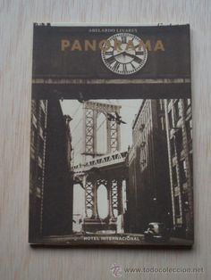 """Cuadernillo que adelanta algunos de los mejores poemas de su último libro: """"Panorama"""" de Abelardo Linares."""
