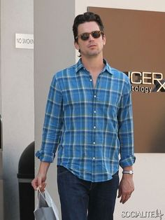 Matt Bomer does some shopping at Ralph Lauren in Los Angeles. Bomer also treated himself to a spa treatment and met up with his partner Simon Halls. April 12, 2013.  http://socialitelife.com/photos/matt-bomer-shops-at-ralph-lauren/exclusive-matt-bomer-a-front-runner-for-the-role-of-christian-grey-in-fifty-shades-of-grey-does-some-shopping-at-ralph-lauren-in-los-angeles-8