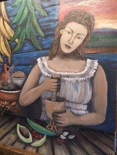 Puerto Rican folk art.