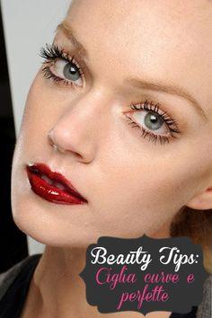 Beauty tips: ciglia curve e perfette