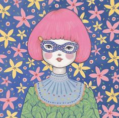 Flower Bandit - Jasmine by Emma Hampton