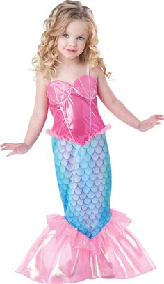 Mystical Mermaid Kids Costume More