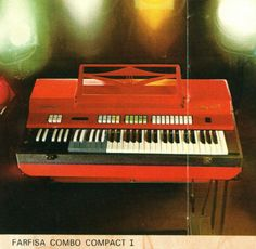 Farfisa Compact Combo Organ